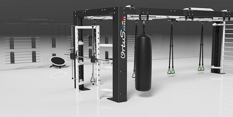 Máquinas para áreas deportivas y gimnasios