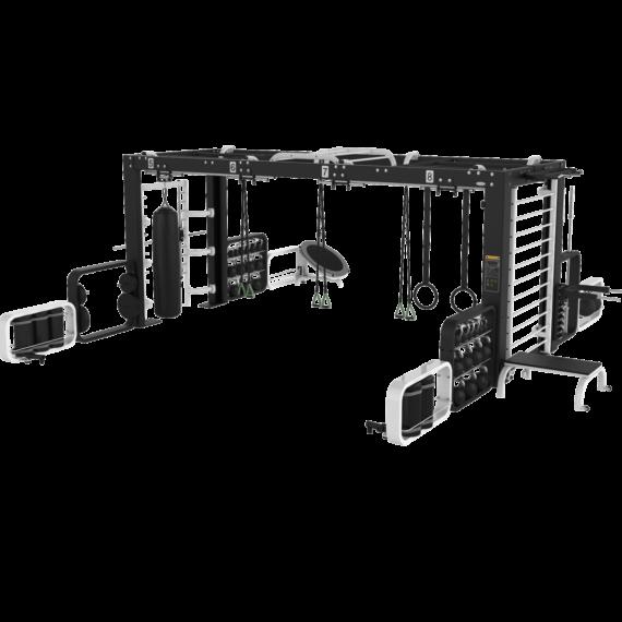 Estructura Modular Funcional Cyro para Gimnasio