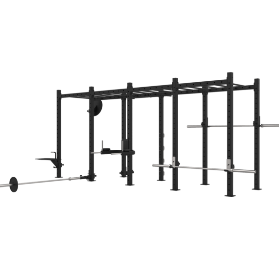 Estructura Modular Funcional Zhero para Gimnasio