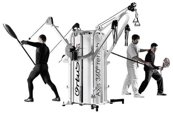 maquinas para gimnasios y centros deportivos
